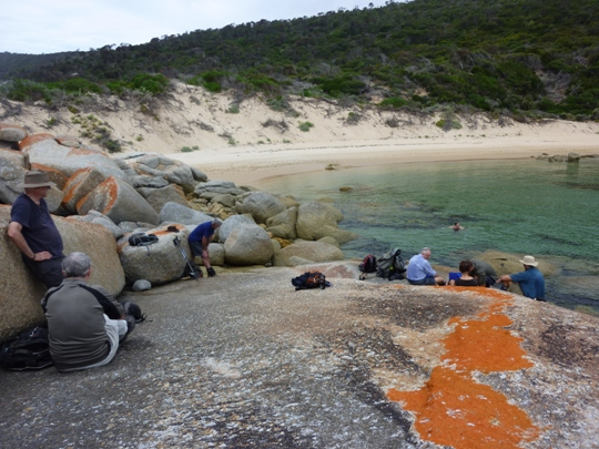 Time for a break - Flinders Island